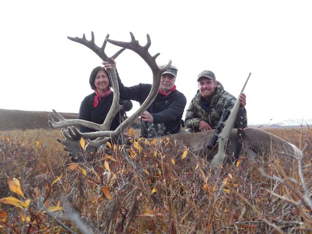Bonnie& Larry Sideaway Alaska Caribou Hunt