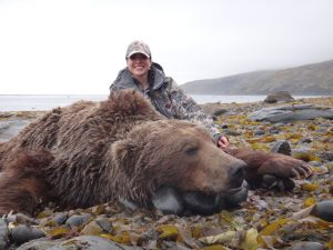 Trophy Bear - hunting with Deltana Outfitters