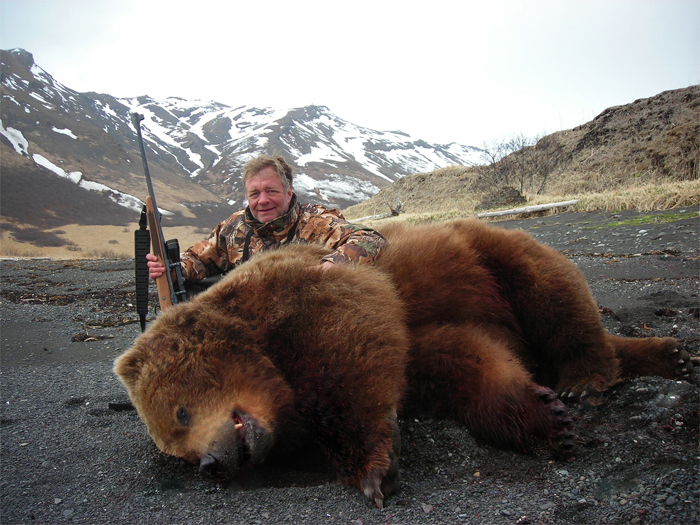 Dave Johson 10ft Spring Brown Bear 2008