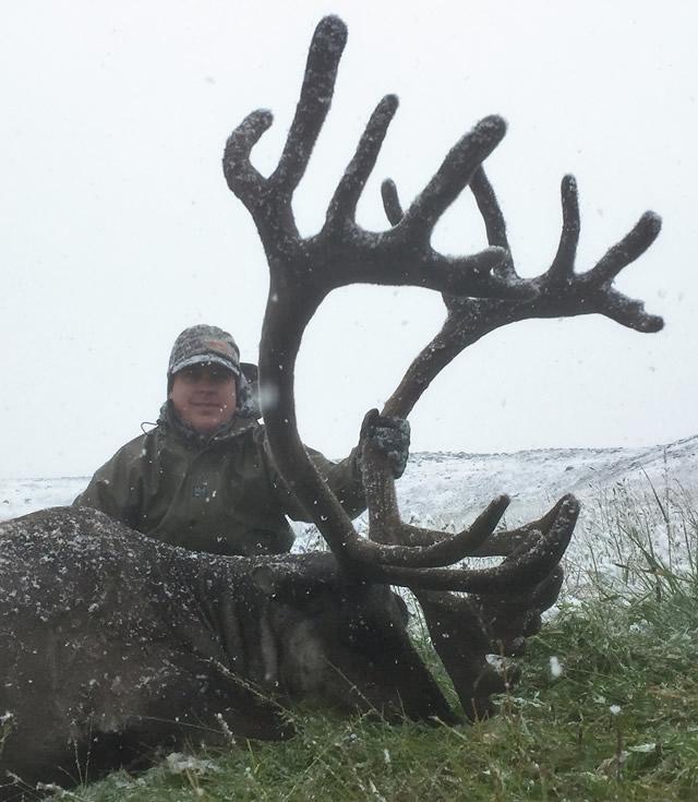 Garrett Prather-Caribou - Alaska Hunt with Deltana Outfitters