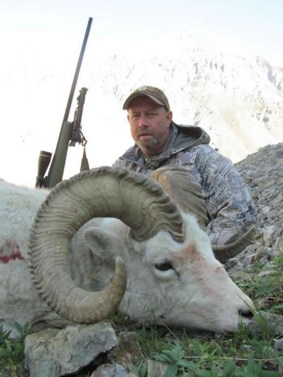 George Cook's Dall Sheep with Deltana Outfitters
