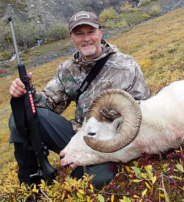 Jamie Satterfield- Alaska Dall Sheep Hunt