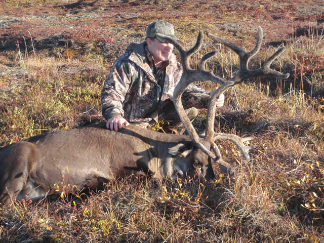 Jason Fitch and his 2015 Caribou with Deltana Outfitters