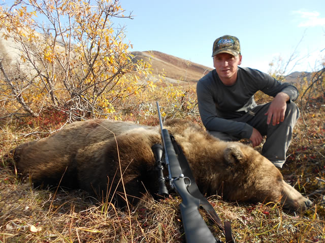 Jason Martin Brooks Range Grizzly