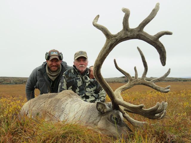 Jerry Mumphrey and his 2016 Caribou - Alaska Hunt - Deltana Outfitters
