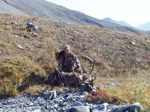 Jim Durant with 1 st Brooks Range Caribou