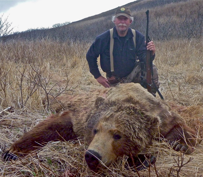 John Barger with his 2010 Spring Brown Bear