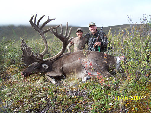 Ludek Liska with his Second Trophy Brooks Range Barren Ground Caribou