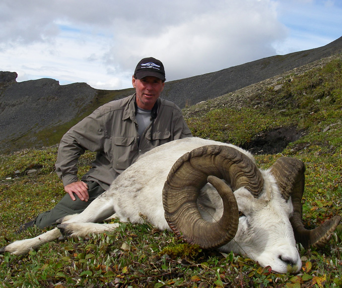 Mike Spencer With his Brooks Range Trophy Dall Sheep 2010