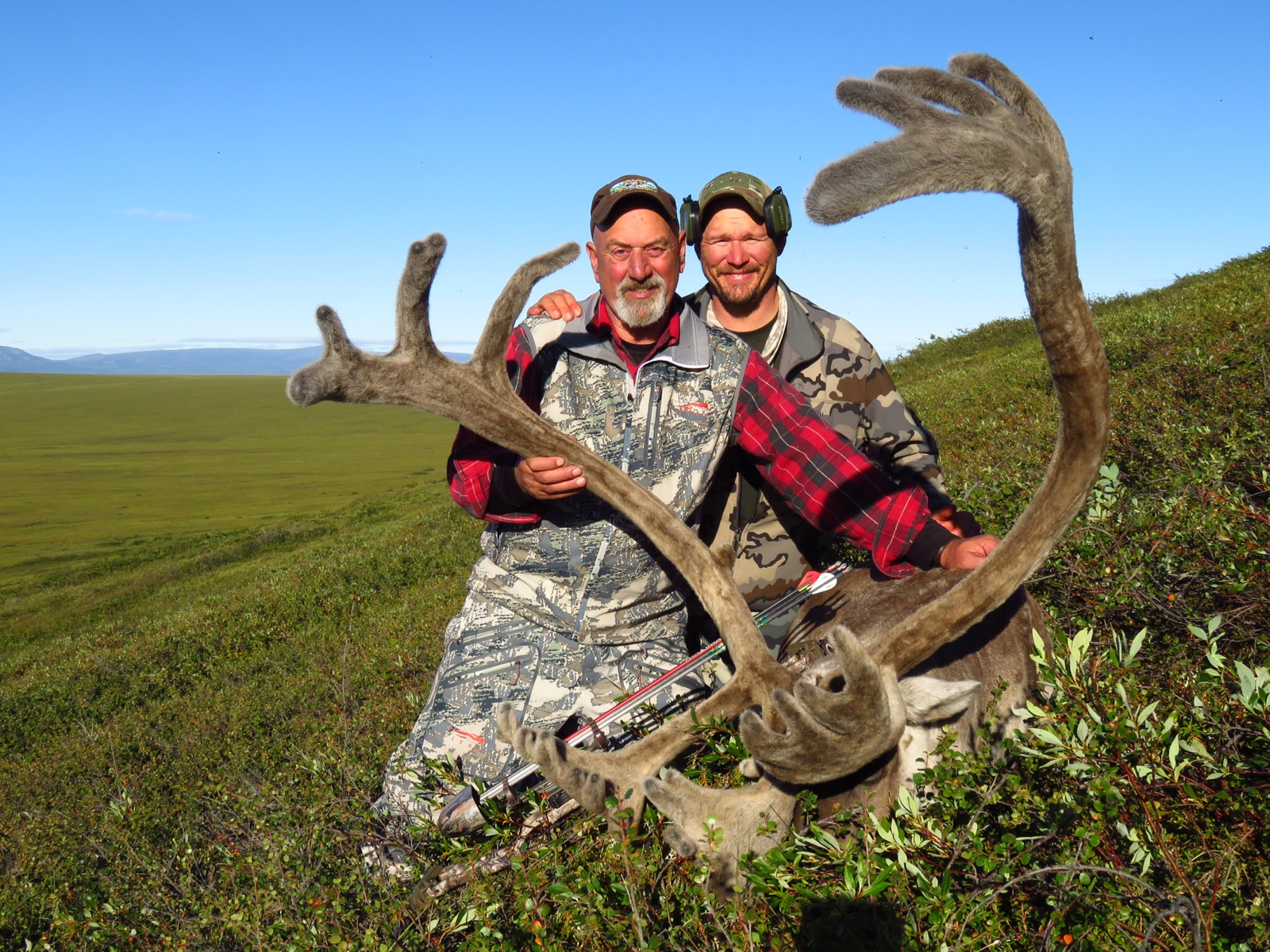 Peter Dejardin and his 2016 Caribou - Deltana Outfitters Alaska Hunt
