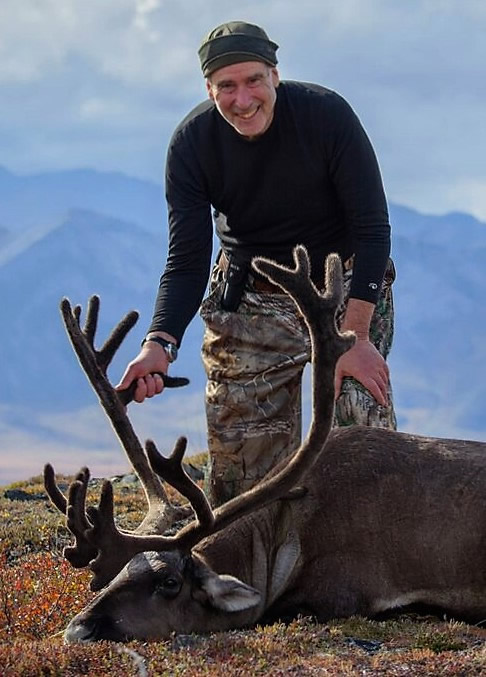 Richard Long and his Alaska Caribou 2016
