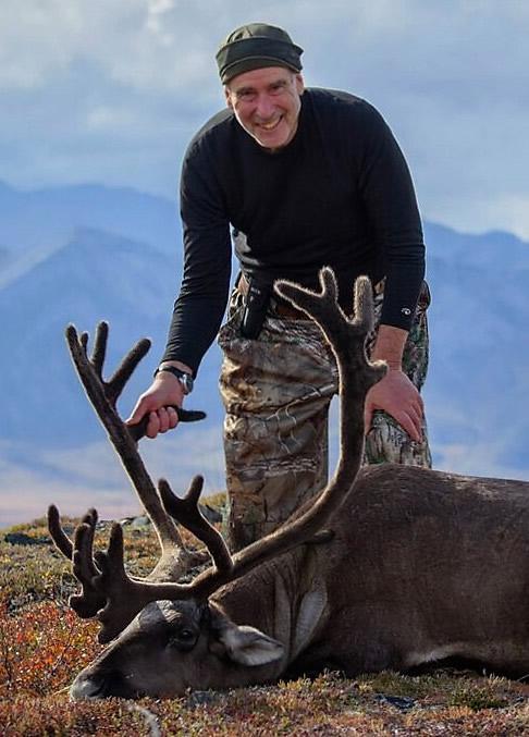 Richard Long and his Alaska Caribou 2016