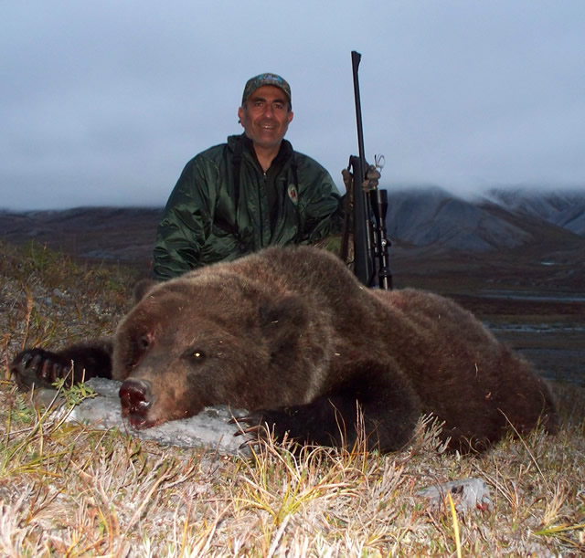 Roberto Torrez Brooks Range Grizzly