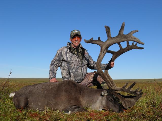 Steve Tangsrud 2nd caribou