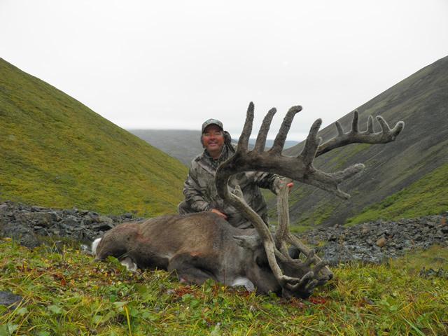 Tom Tolkacz 1st caribou