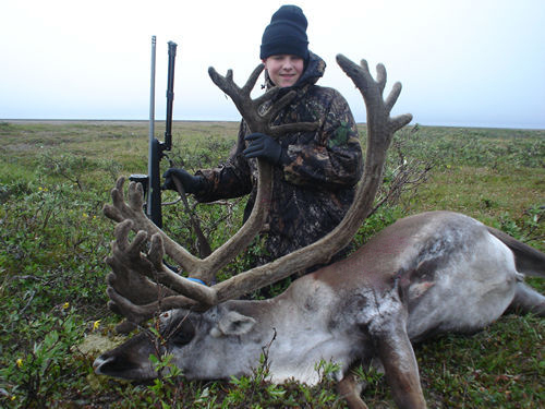 Weston Wiatt Alaska Brooks Range Caribou (Father  Son Hunt )_JPG
