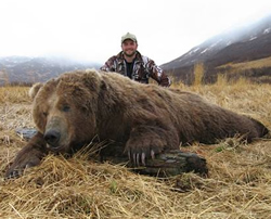 Guided Alaska Peninsula brown bear Hunting